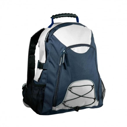 Climber Backpack - Grey and Navy