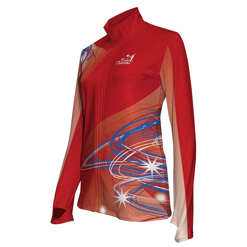 Custom Dancewear Activewear Dance Jacket 006