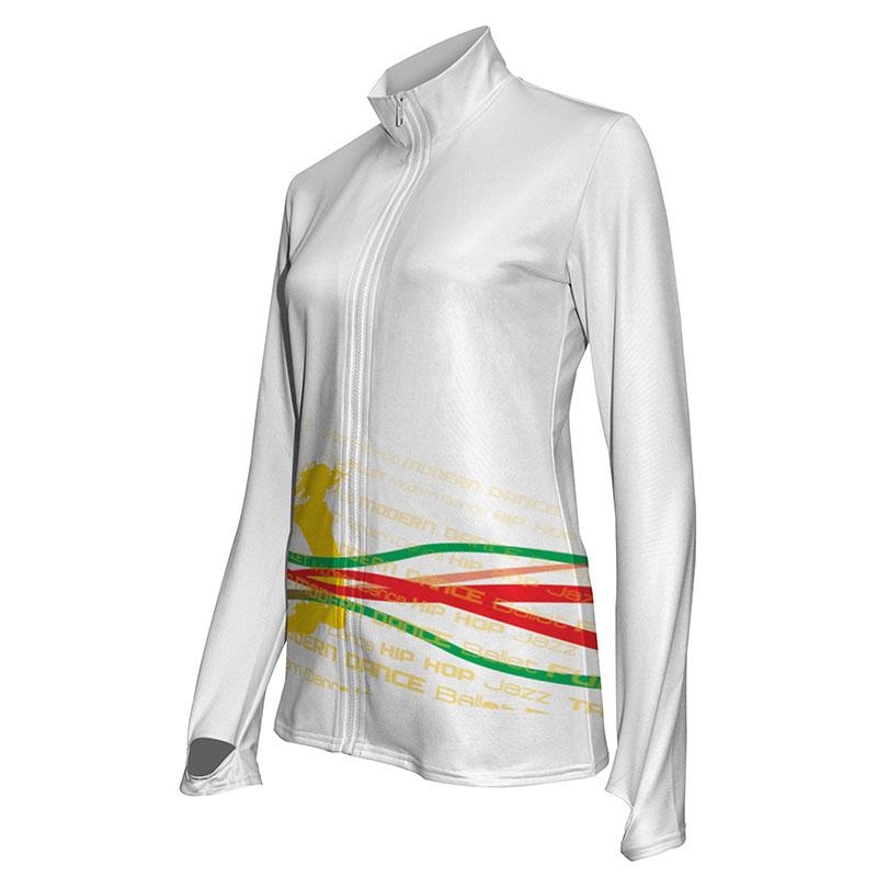 Custom Dancewear Activewear Dance Jacket 015