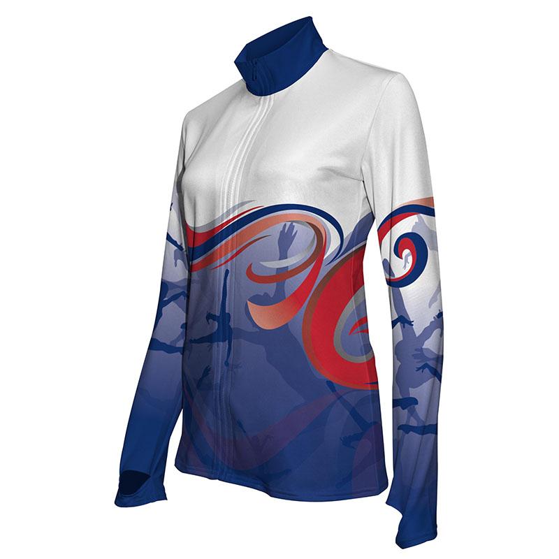 Custom Dancewear Activewear Dance Jacket 022