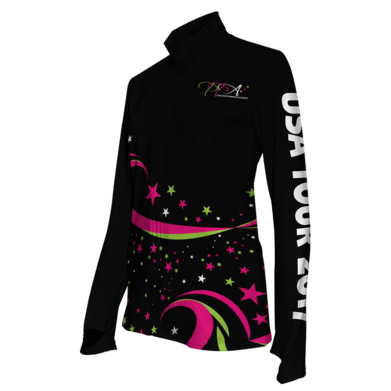 Custom Dancewear Activewear Dance Jacket 031