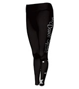 Custom Netball Full Length Flexi Print Tights 160x180
