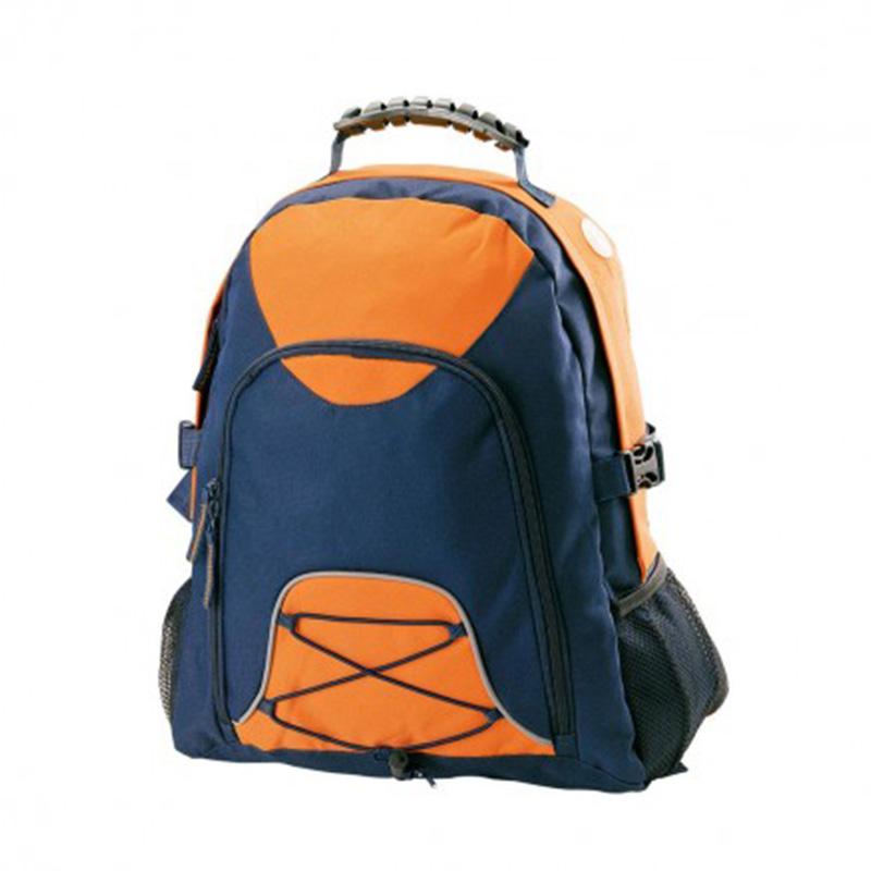 Climber BackPack - Orange & Navy