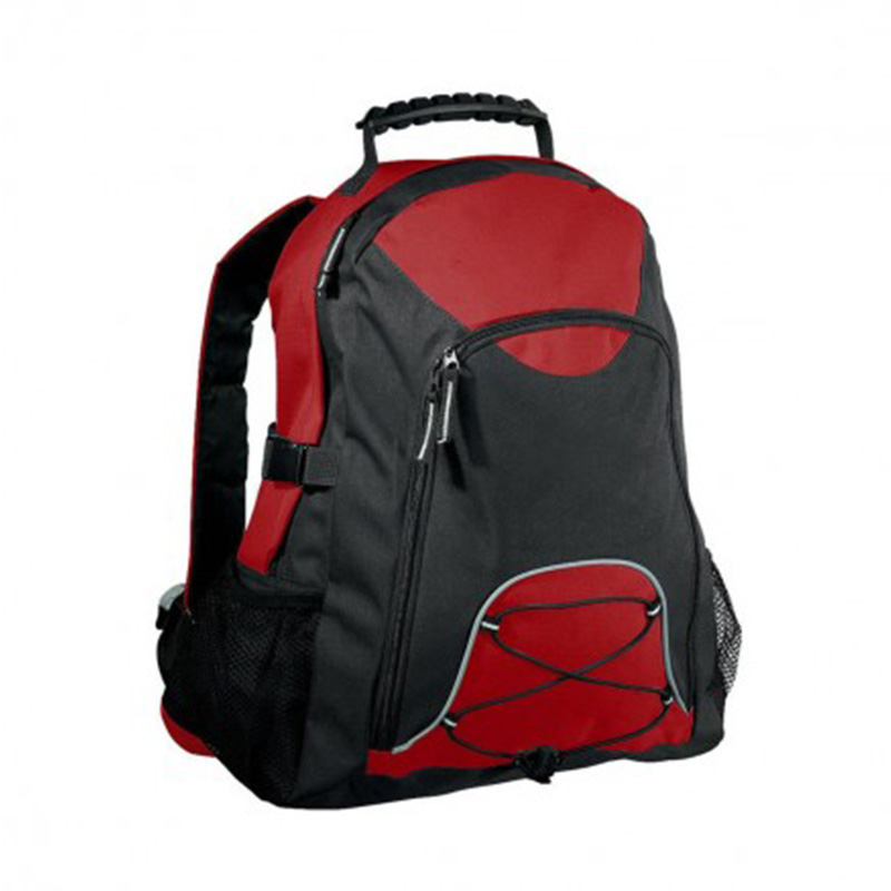 Climber BackPack - Red & Black