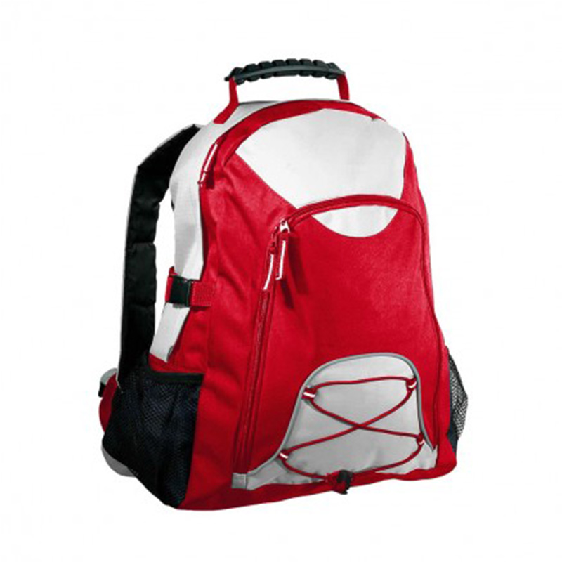 Climber BackPack - Red & White