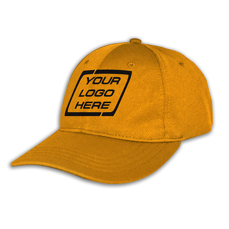 Custom Fitted Sports Cap-Aussie Gold