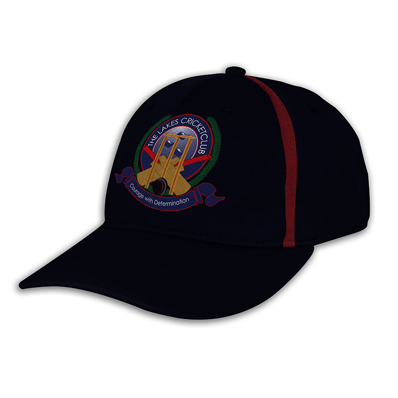 Custom Fitted Sports Cap-Ink Navy