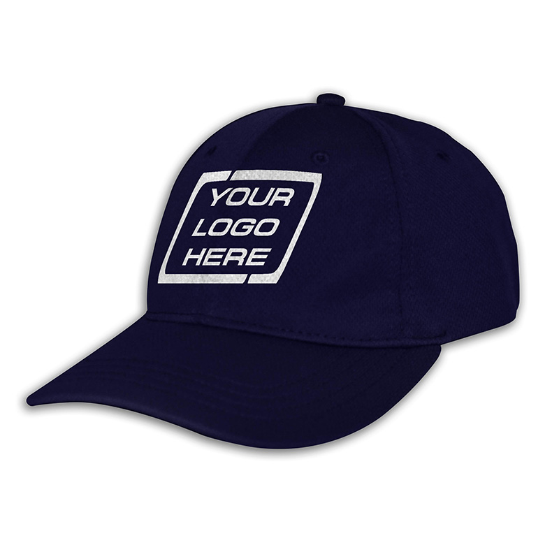 Custom Fitted Sports Cap-Purple