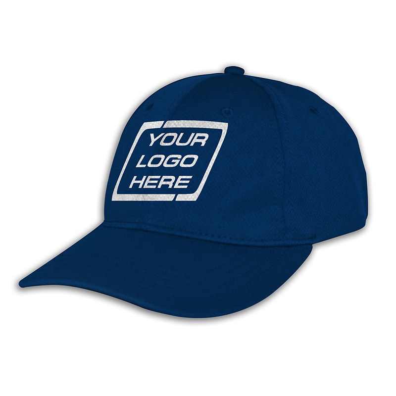 Custom Fitted Sports Cap-Royal