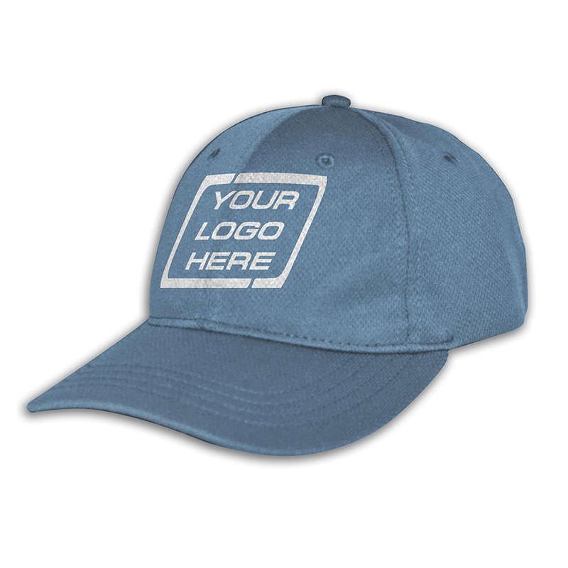 Custom Fitted Sports Cap-Sky
