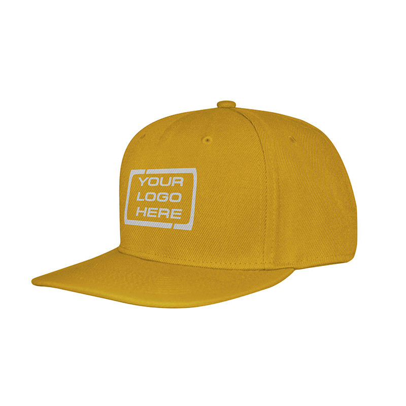Flat Pro Adjustable Baseball Cap Aussie Gold