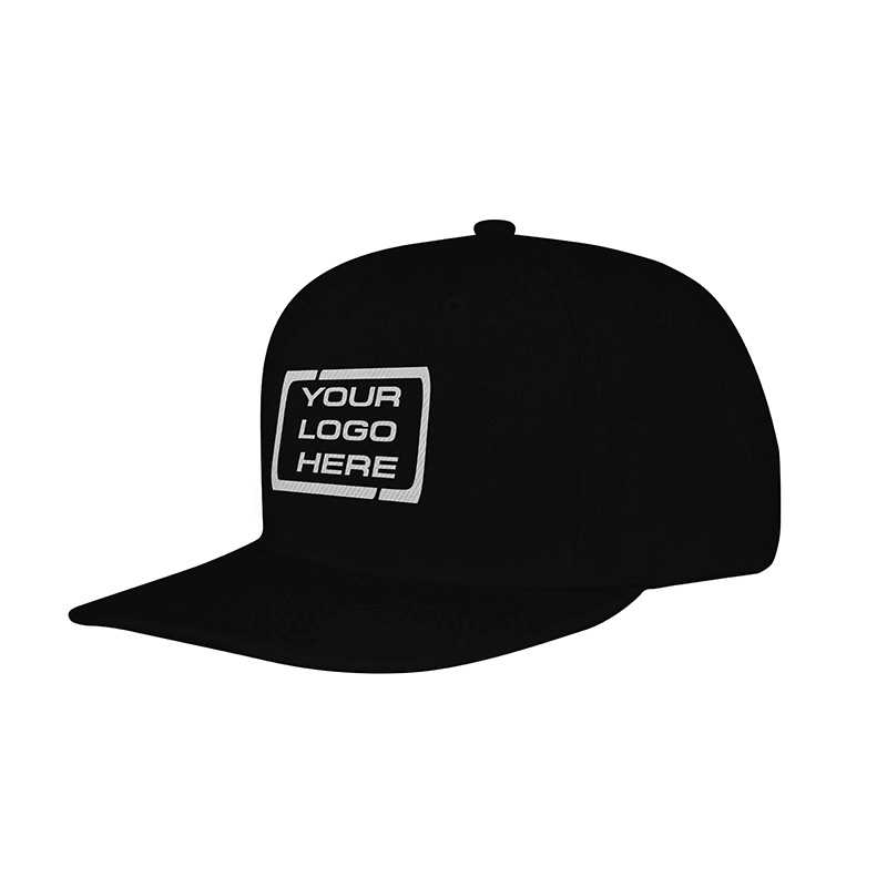 Flat Pro Adjustable Baseball Cap Black