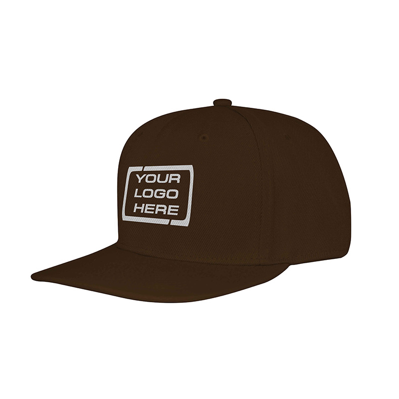 Flat Pro Adjustable Baseball Cap Brown