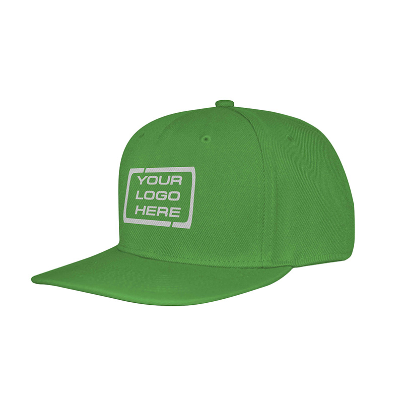 Flat Pro Adjustable Baseball Cap Emerald Green