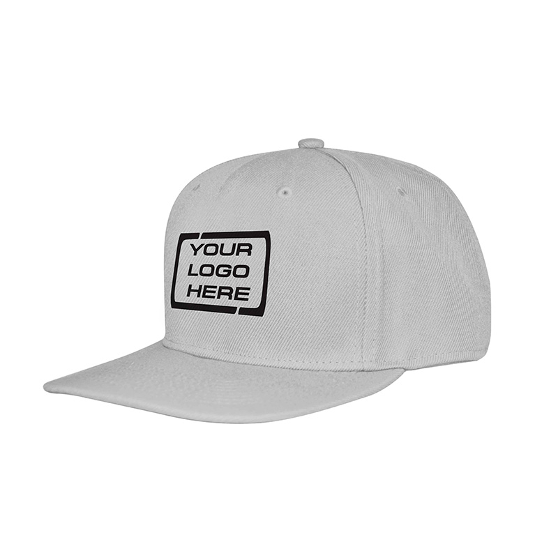 Flat Pro Adjustable Baseball Cap White