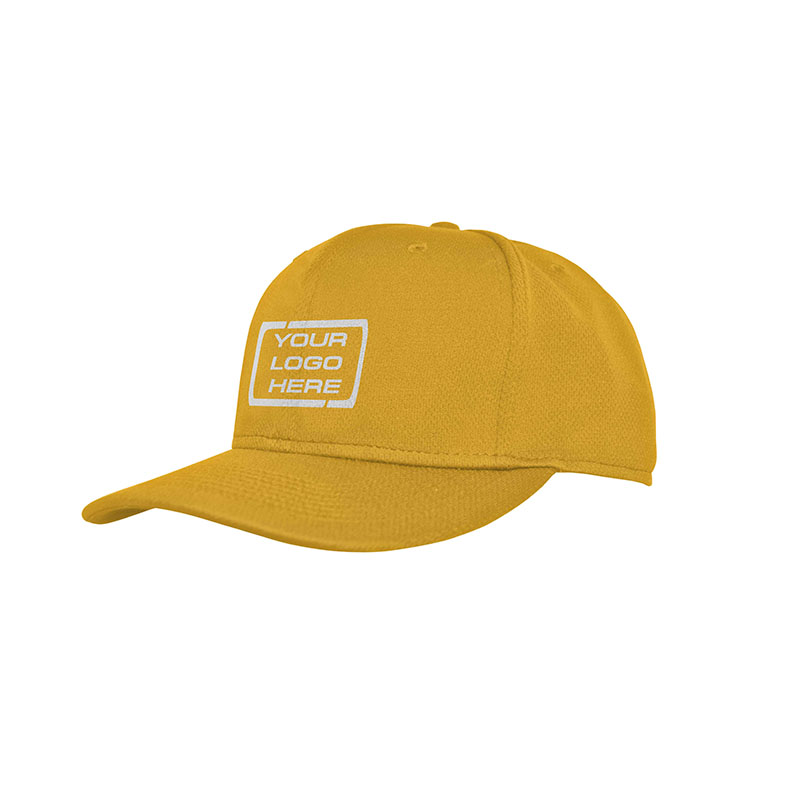 Flat Pro Fitted Baseball Cap Aussie Gold