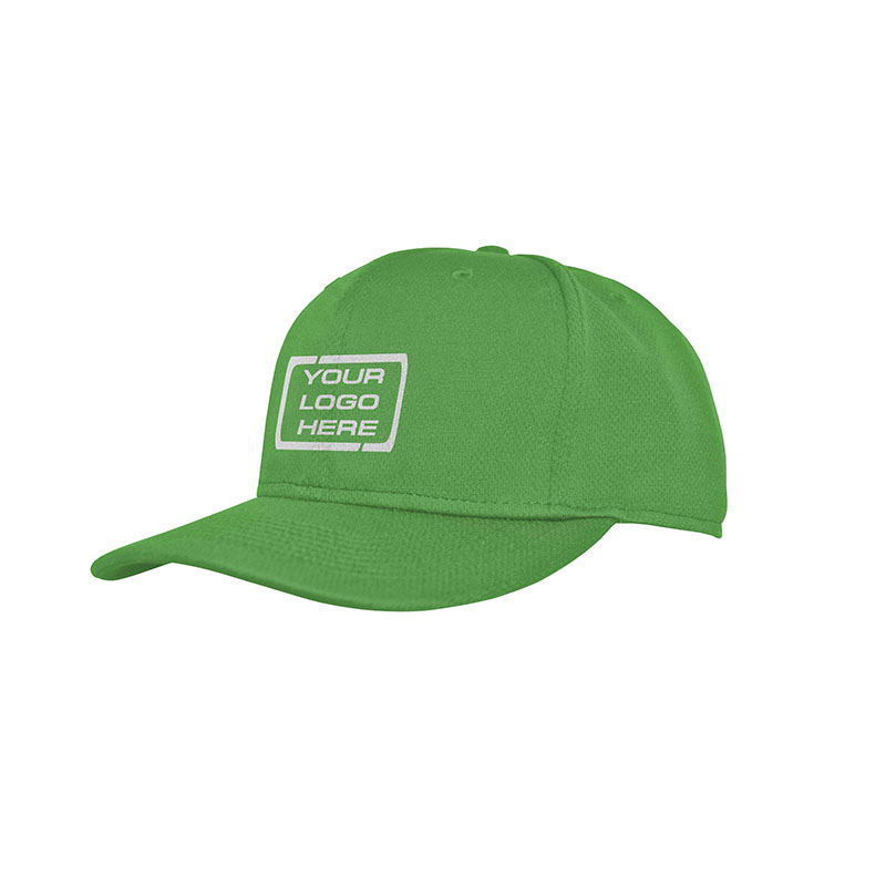 Flat Pro Fitted Baseball Cap Emerald Green