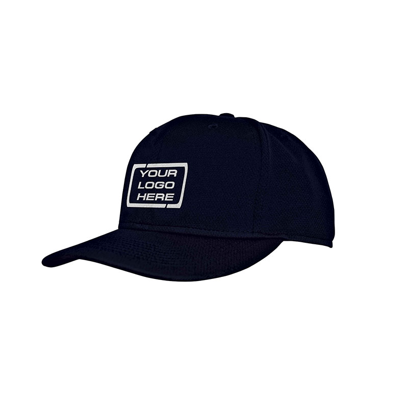 Flat Pro Fitted Baseball Cap Ink Navy