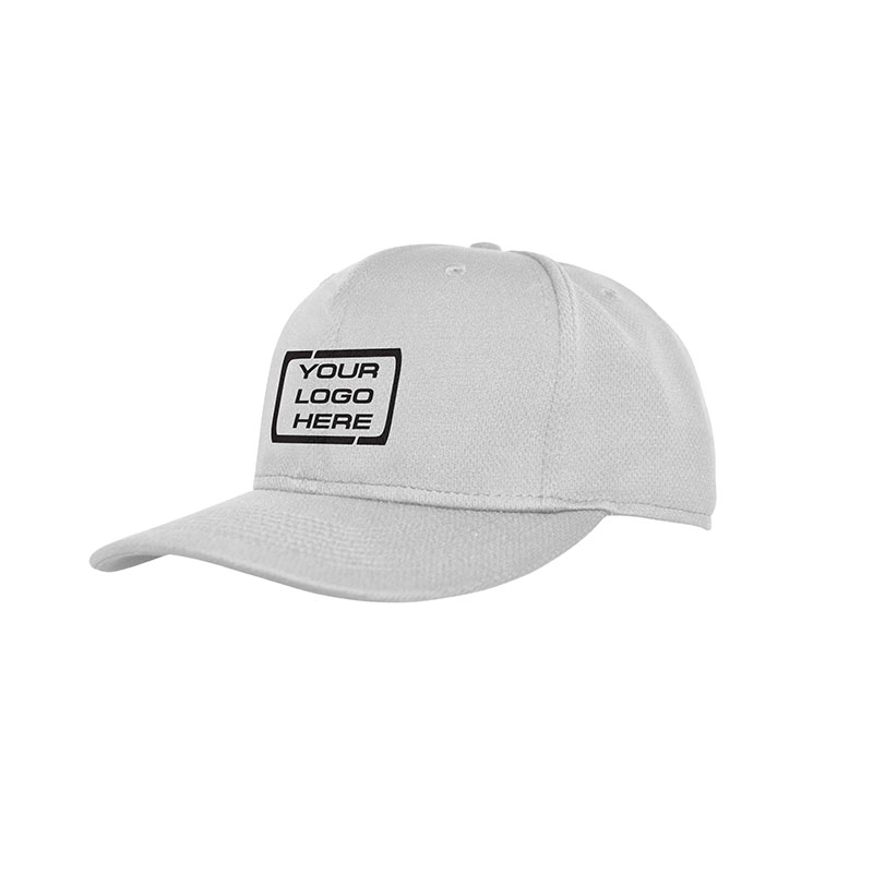 Flat Pro Fitted Baseball Cap White