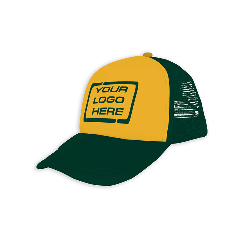 Foam Trucker Cap Aussie Gold