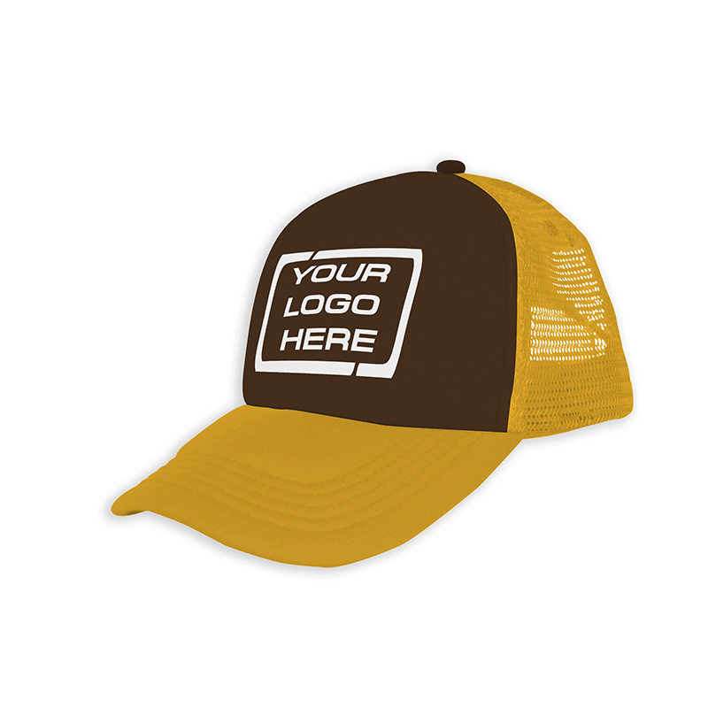 Foam Trucker Cap Brown