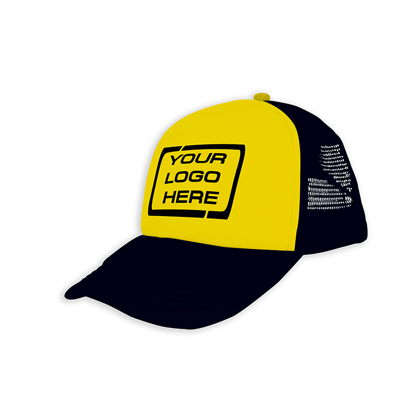 Foam Trucker Cap Gold