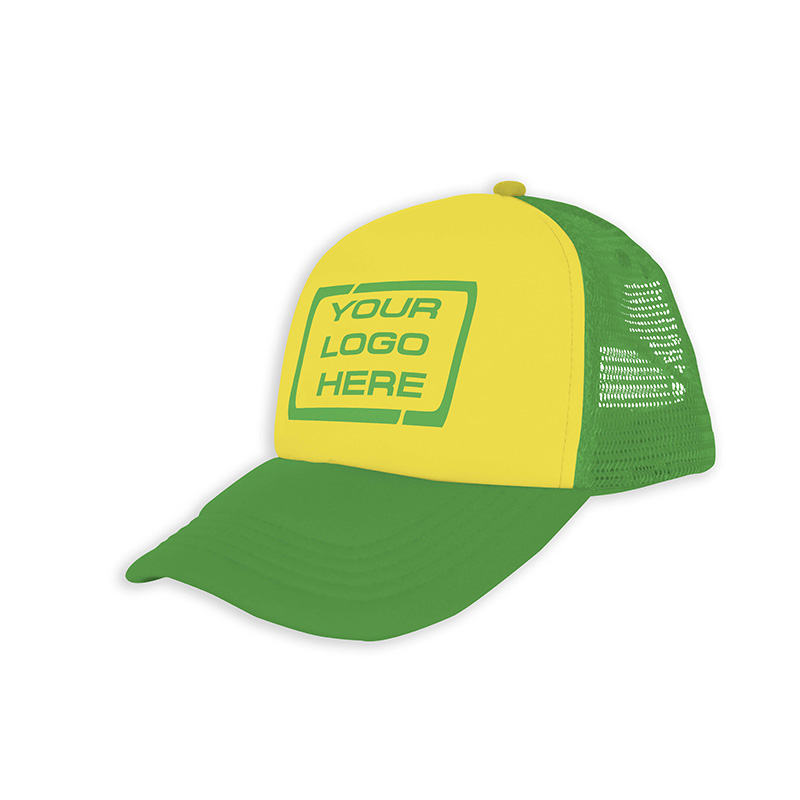 Foam Trucker Cap Yellow