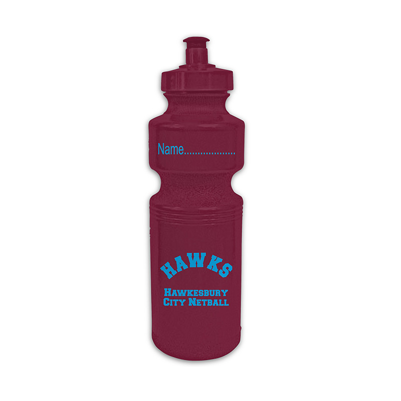 Hawkesbury City Netball-Water Bottle