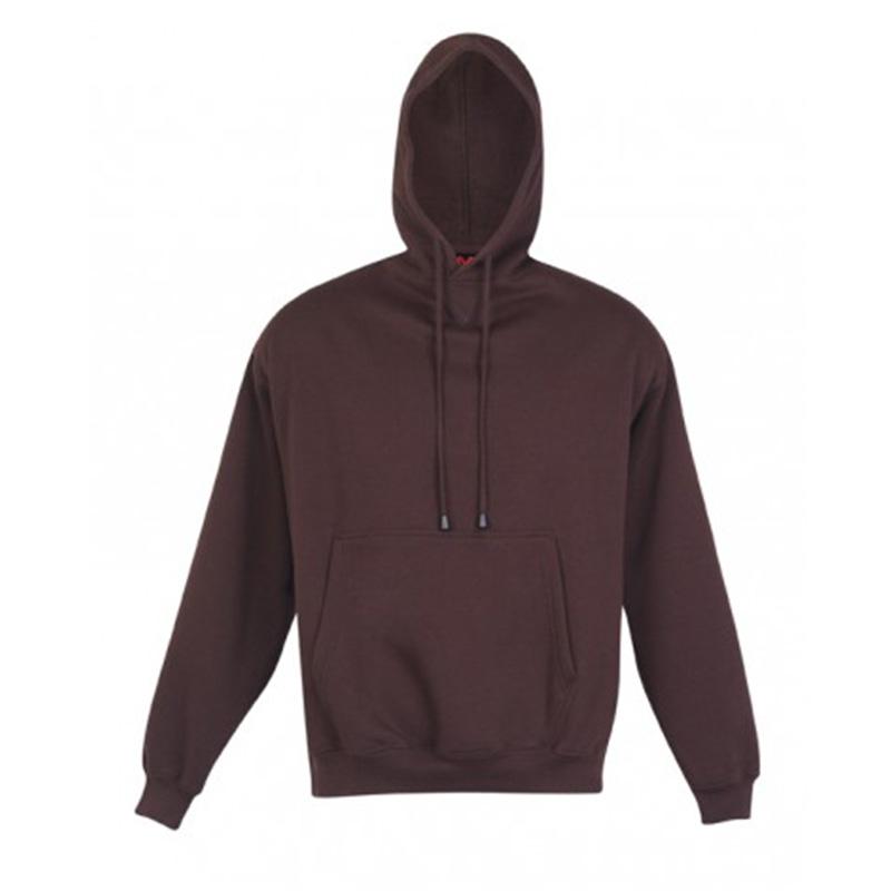 Kangaroo Pocket Hoodie - Brown