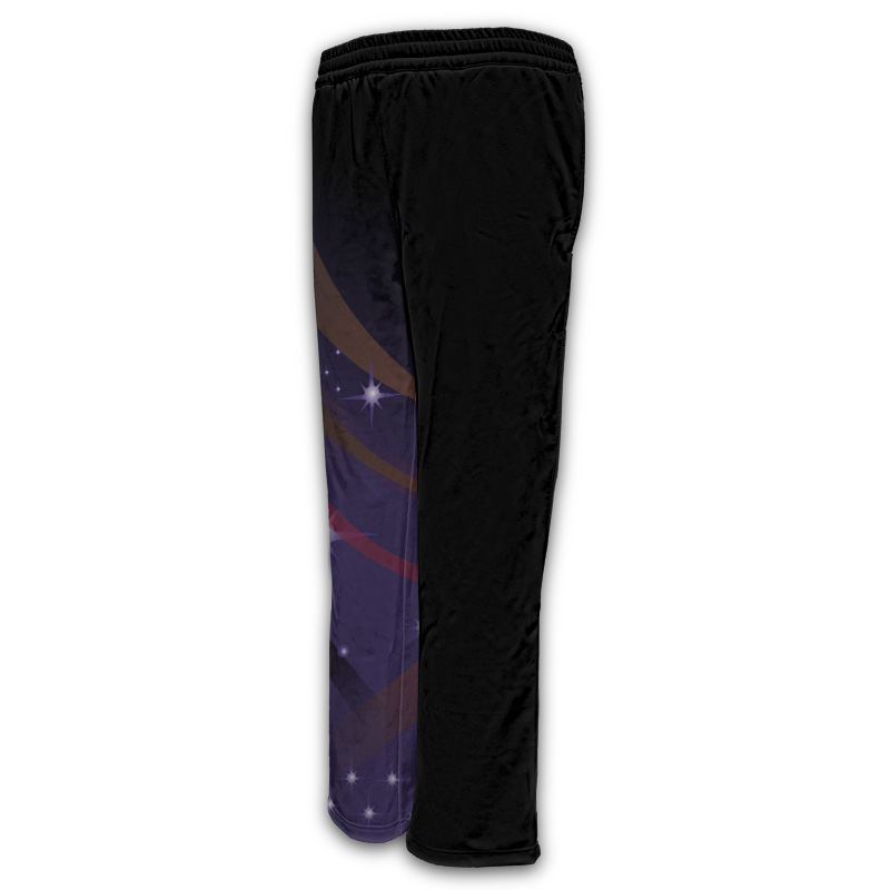 Ladies Gymnastics Activewear Track Pants- Design 2 800x800