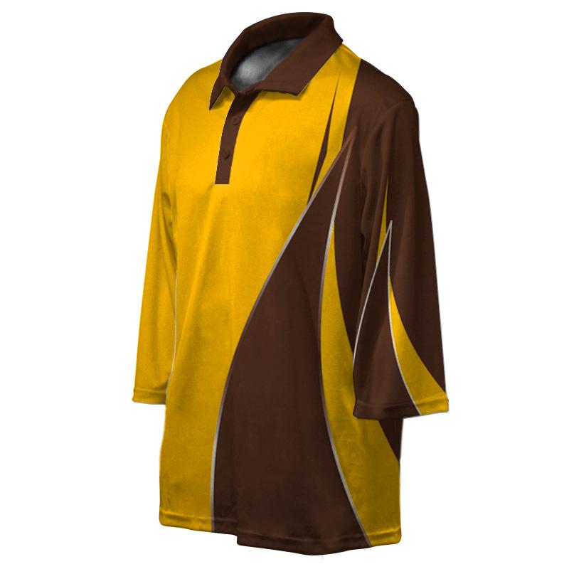 Longsleeve Cricket Polo_3D Mockup_Design_02