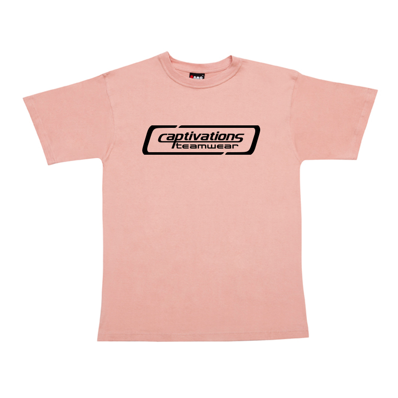 Printed Cotton Tee - Dusty Pink