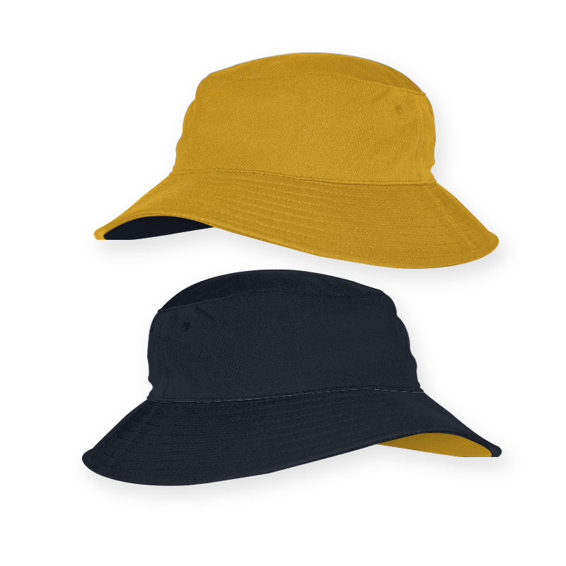 RBT0019_Reverse Bucket Hat_Aussie Gold and Ink Navy_ 800x800