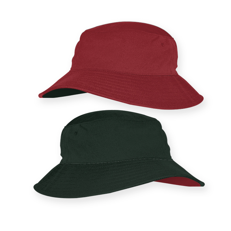 RBT0019_Reverse Bucket Hat_Red and Black_ 800x800