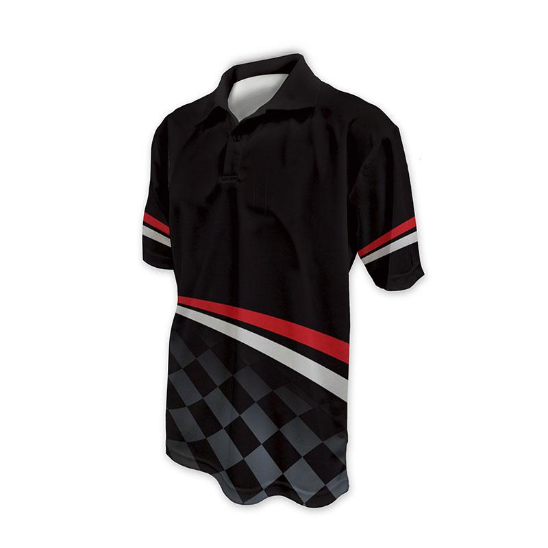 Race Crew Polo Shirt Design 11