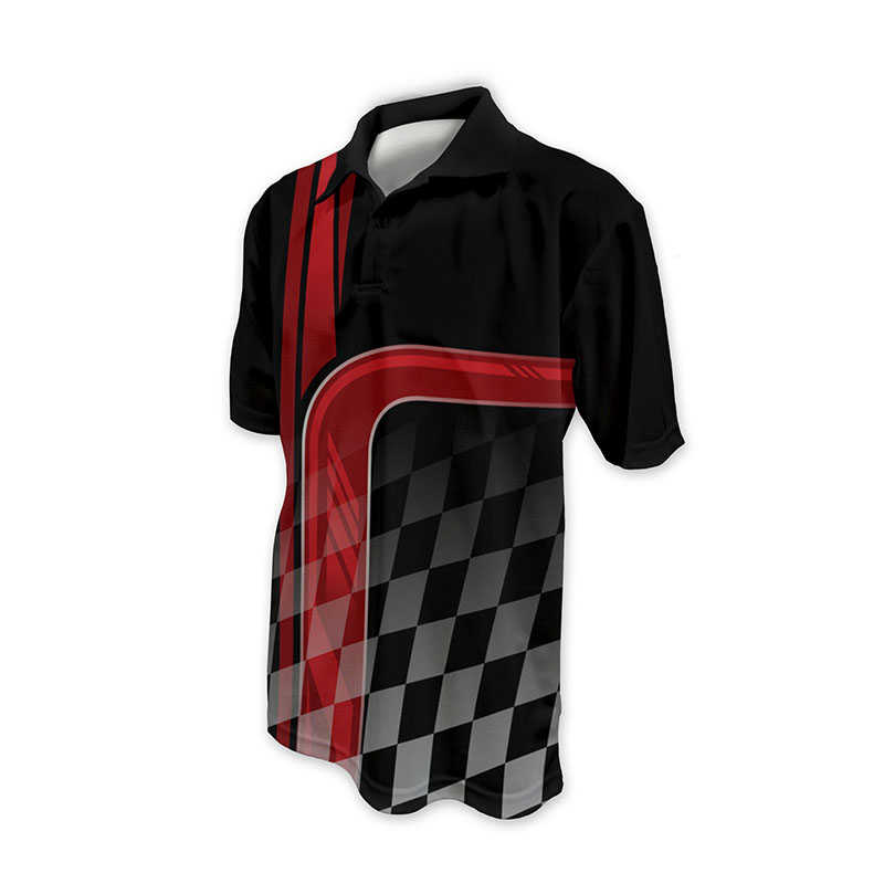 Race Crew Polo Shirt Design 12