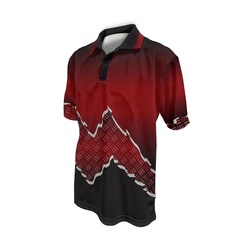 Race Crew Polo Shirt Design 16