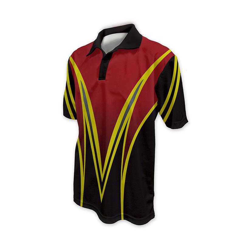 Race Crew Polo Shirt Design 2