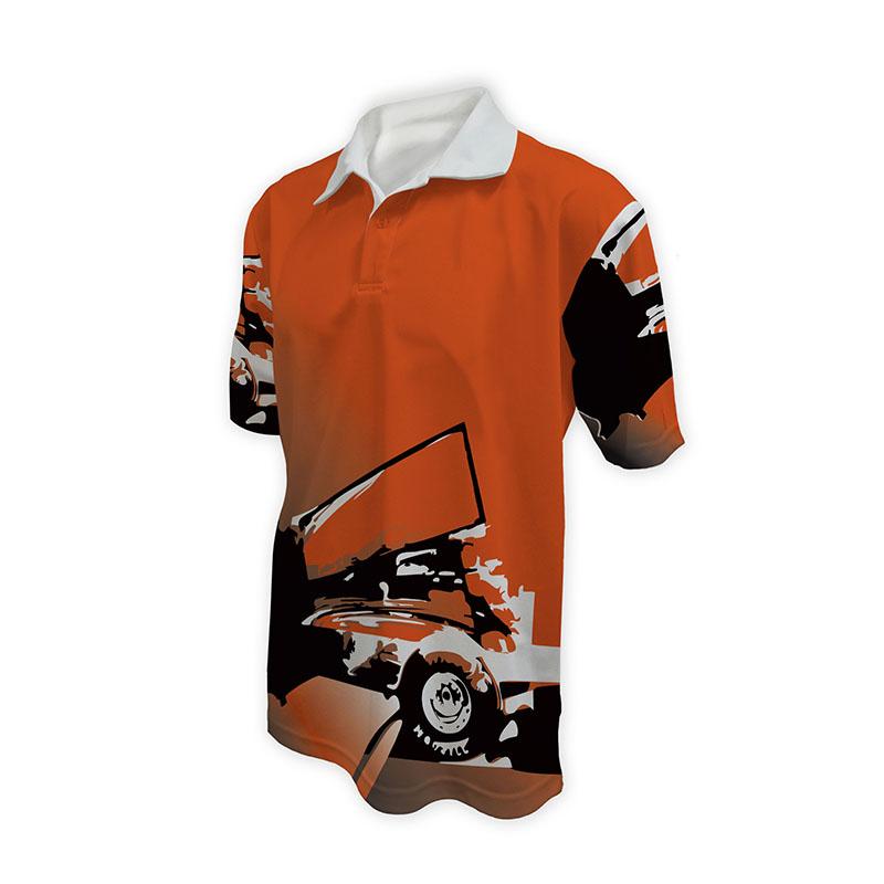 Race Crew Polo Shirt Design 23