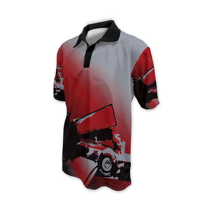 Race Crew Polo Shirt Design 8