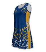 Round Neck Racer Netball Dress 160x180