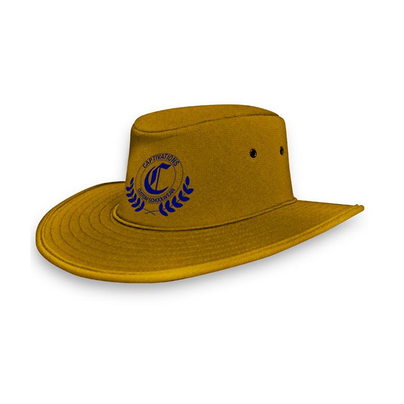 School Foam Hat_Aussie Gold