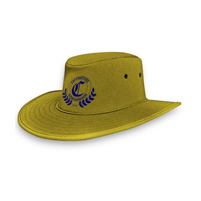 School Foam Hat_Yellow