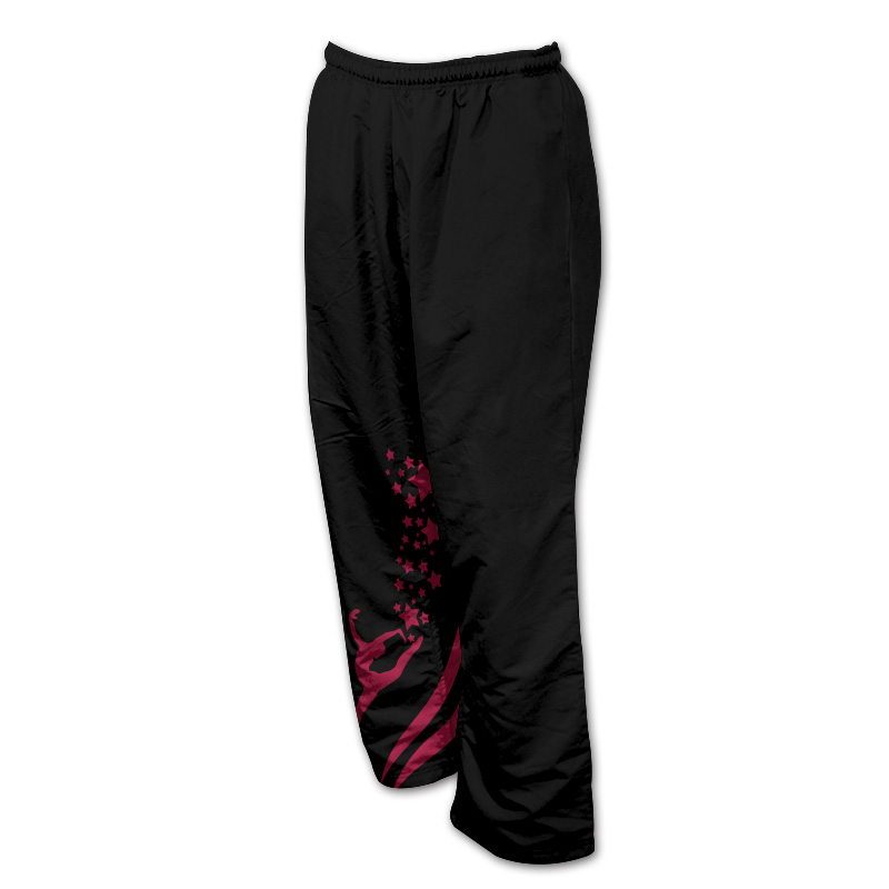 Unisex Gymnastics Microfibre Track Pants- Without Zips 010
