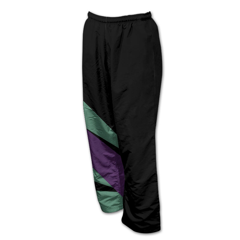 Unisex Gymnastics Microfibre Track Pants - Without Zips 006