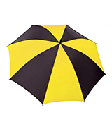 Virgina Umbrella - Black & Yellow_160x180