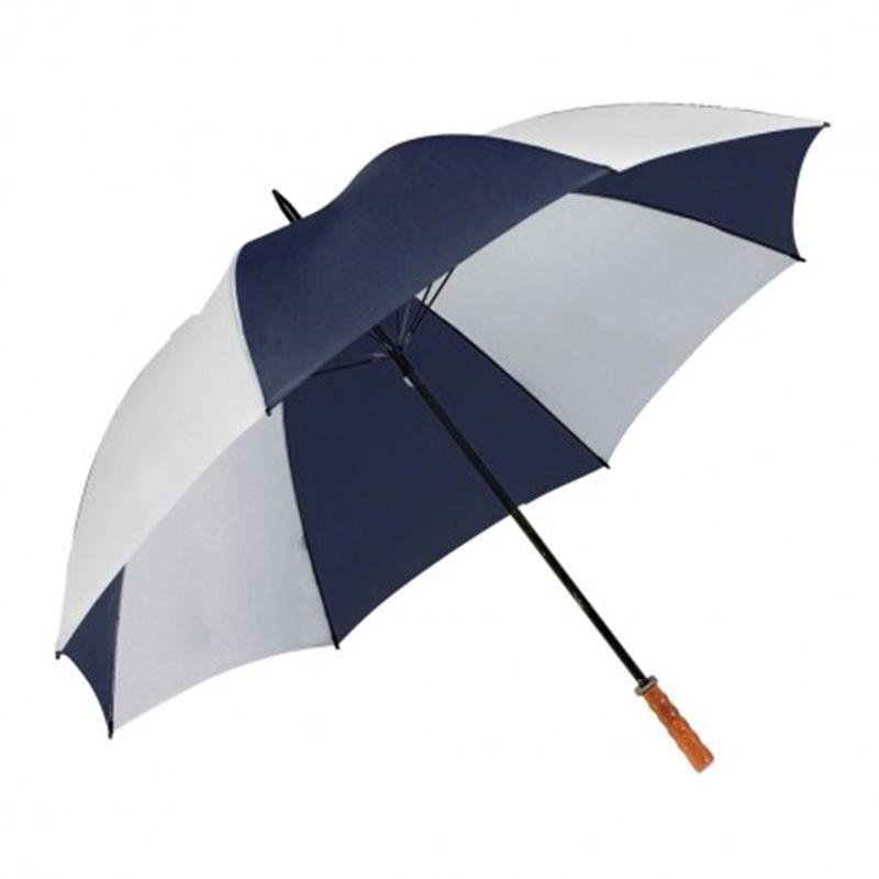 Virgina Umbrella - Navy & White