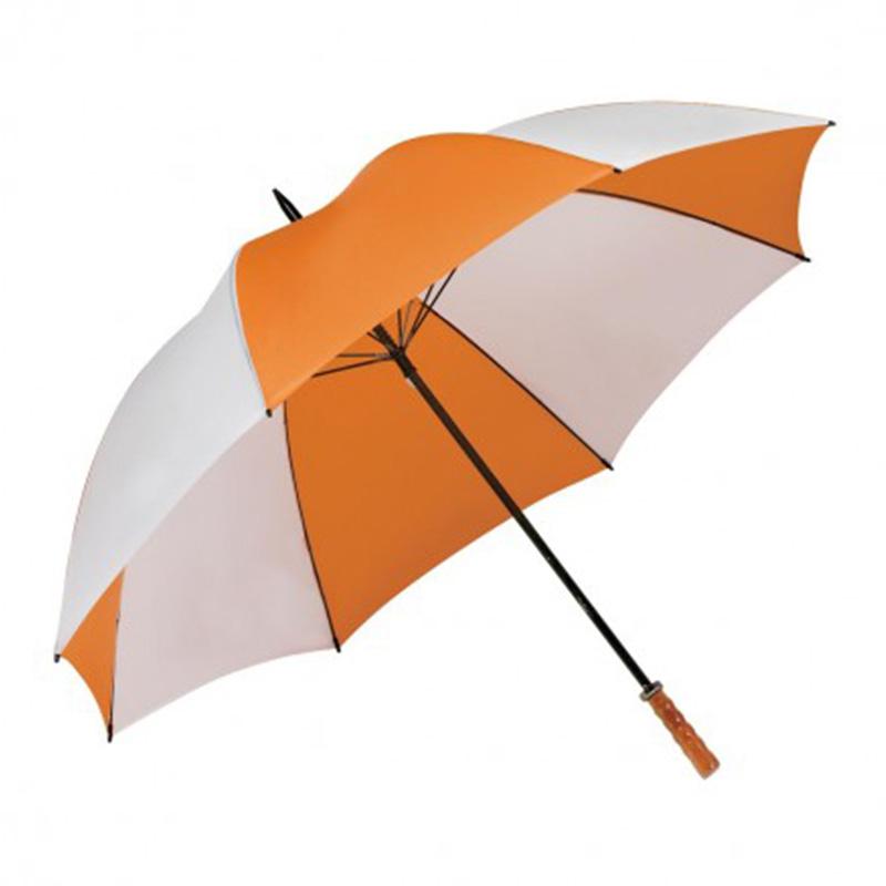 Virgina Umbrella - Orange & White
