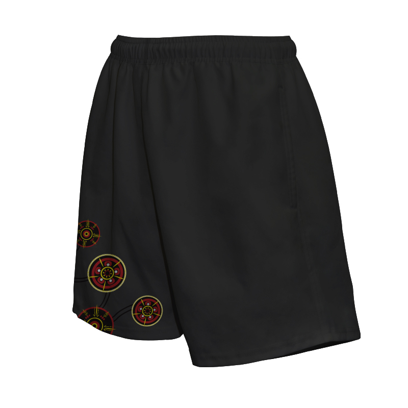 Indigenous Rugby Shorts - Design 5