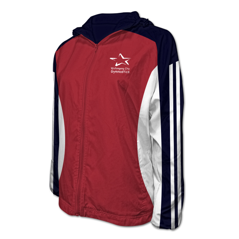 Gymnastics Team Jacket with Hood 011